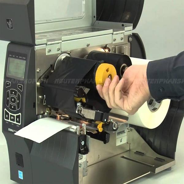 Cách khắc phục máy in mã vạch báo lỗi Ribbon Out?