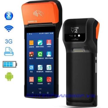 Máy bán hàng cầm tay SUNMI V2 (1G+8G)