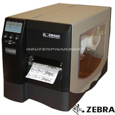 Máy in mã vach Zebra ZM400 (203dpi)