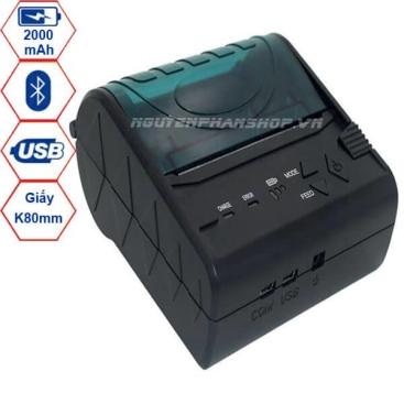 Máy in hóa đơn Bluetooth POS-8003DD