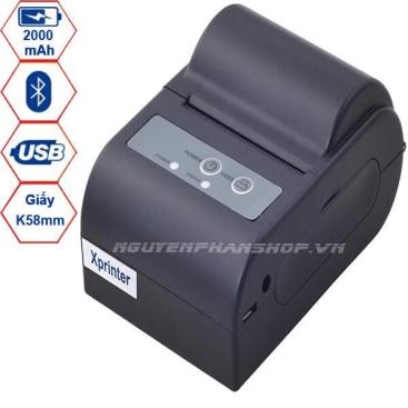 Máy in hóa đơn Bluetooth Xprinter XP-P101