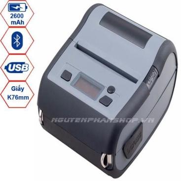 Máy in mã vạch di động Xprinter XP-P324B (USB+Bluetooth)
