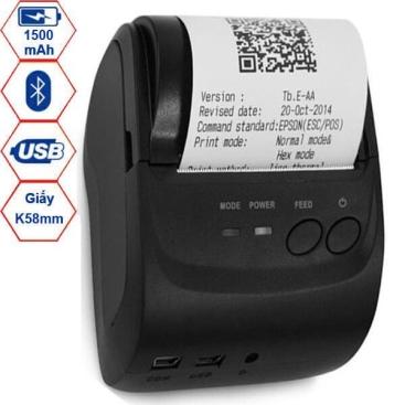 Máy in hóa đơn Bluetooth POS-5802DD
