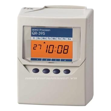 Máy chấm công thẻ giấy SEIKO QR-395